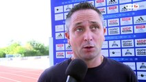Interview entraineur de Quevilly