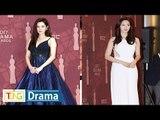 SNSD SEOHYUN(서현)·T-ARA Eun Jung(은정) 'MBC 연기대상' 포토타임 (도둑놈 도둑님, Girls' Generation, 별별 며느리)