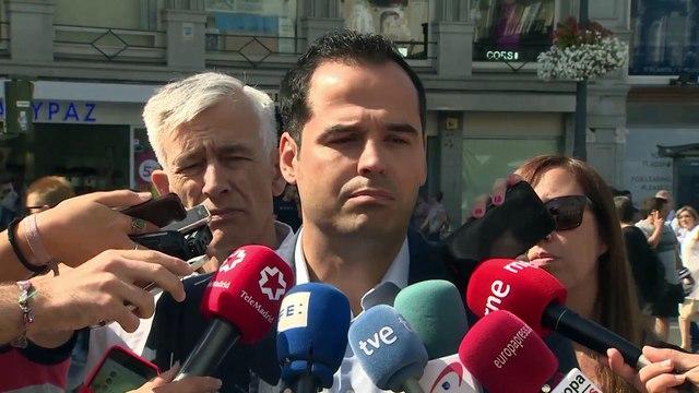 "C's pide a Pedro Sánchez que ""exija responsabilidades"" a Torra"