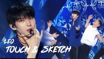 [HOT]LEO - Touch & Sketch, 레오 - Touch & Sketch show  Music core 20180818