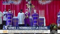 Gênes : début de la cérémonie en hommage aux victimes dans une ambiance solennelle