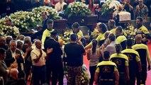 إيطاليا تشيع ضحايا جسر جنوة بجنازة رسمية وسط رفض البعض من ذويهم الحضور