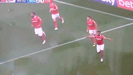 Soudani égalise à la dernière minute face à Wigan (2-2)