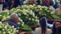 Adieu solennel pour les victimes du pont effondré à Gênes