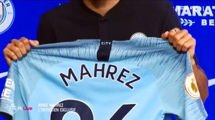 Interview de Riyad Mahrez avec RMC Sports