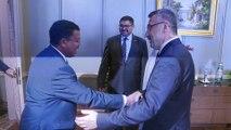 Cumhurbaşkanı Yardımcısı Oktay, Sudan Cumhurbaşkanı Kıdemli Yardımcısı İbrahim ile görüştü - ANKARA