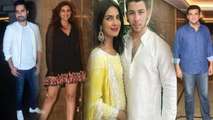 Priyanka Chopra & Nick Jonas Grand Engagement Party starts with Madhu Chopra, Parineeti | FilmiBeat
