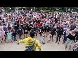 Ath: grosse ambiance pour le flashmob façon zumba de Ducasse
