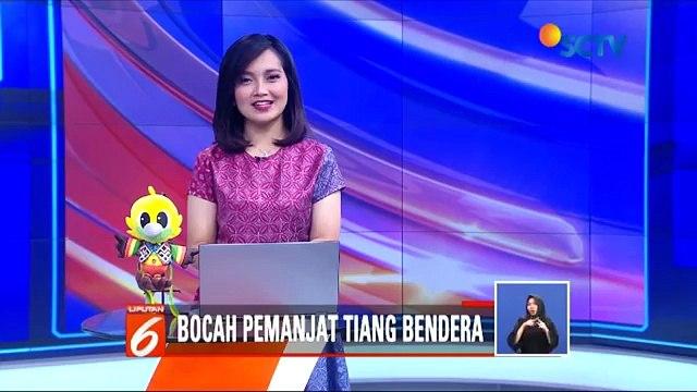 Bocah Pemanjat Tiang Bendera Asal NTT, Nobar Asian Games 2018 Bersama Presiden Joko Widodo - Liputan