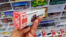 TOMICA No.127 Isuzu Giga Full Trailer Dump Takara Tomy Tomica Die cast Toy Car Collection