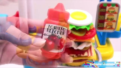 Toy Burger Mania Game Learn Fruits & Vegetables for Kids