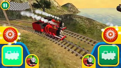 Thomas & Friends: Go Go Thomas! James vs James , Dock Speed Challenge By Budge Studios