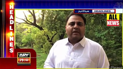 Ary News Headlines | Fawad Chaudhary's Message About Usman Buzdar