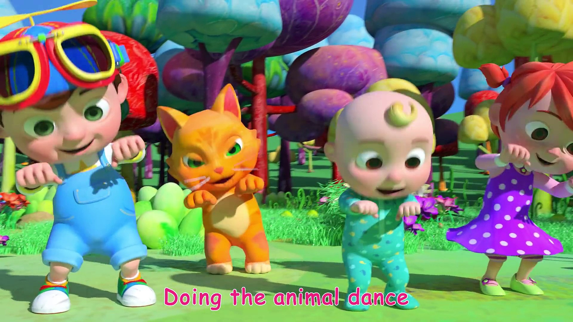 Animal Dance Song Cocomelon Abckidtv Nursery Rhymes Kids Songs Video Dailymotion
