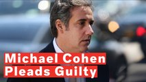 Former Trump Lawyer Michael Cohen Pleads Guilty In Deal With Prosecutors