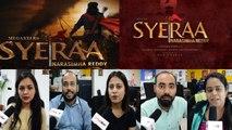 Sye Raa Narasimha Reddy Teaser Reaction | Chiranjeevi | Amitabh Bachchan | Ram Charan | FilmiBeat