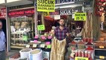 Aktar ve baharatçıların 'sucuk' mesaisi - KAYSERİ