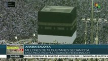 Inicia multitudinaria peregrinación a La Meca de Arabia Saudita