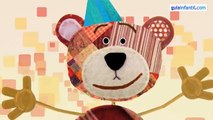 Feliz aniversário. Cumpleaños feliz, aprender espanhol às crianças
