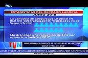 Según los registros administrativos del Instituto Nicaragüense de Seguridad Social, la cantidad de asegurados hasta junio se ubicó en 810 mil 430 trabajadores,