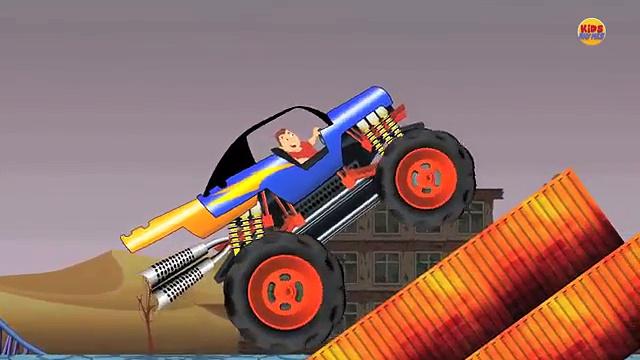 Monster Trucks | Trucks for Childrens | Kids Videos