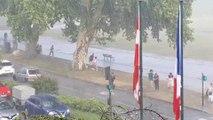 L'orage surprend les promeneurs du dimanche