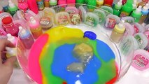 Water Balloons Foam Clay Glue DIY Pizza Learn Colors Combine Mix Slime Surprise Eggs Toys