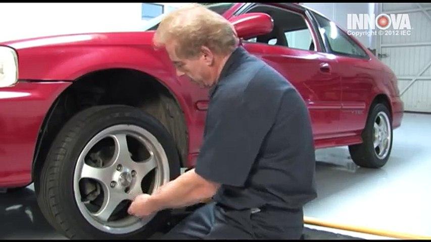 How to change Front Brake Pads 2000 Honda Civic