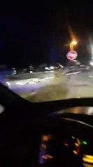 """Saobraćajna nesreća kod """"Nestro"""" benzinske u Tesliću"""