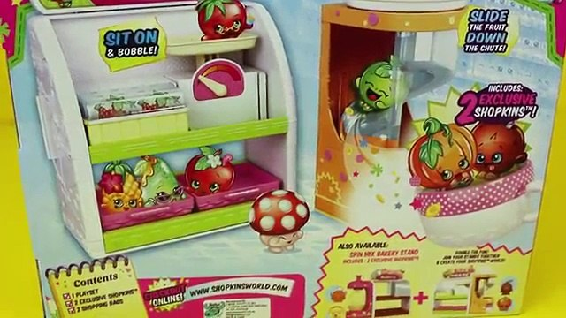 Shopkins With Frozen Anna, & Lego Duplo Lego Superhero Fruit and Veg Stand DisneyCarToys