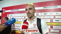 Bernardoni «Avec beaucoup d'envie» - Foot - L1 - Nîmes