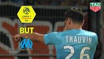 But Florian THAUVIN (49ème) / Nîmes Olympique - Olympique de Marseille - (3-1) - (NIMES-OM) / 2018-19