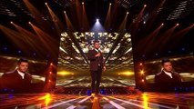 Paul Akister sings Emile Sandés Clown (Sing Off)   Live Results Wk 5   The X For UK 20