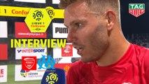 Interview de fin de match : Nîmes Olympique - Olympique de Marseille (3-1)  - Résumé - (NIMES-OM) / 2018-19