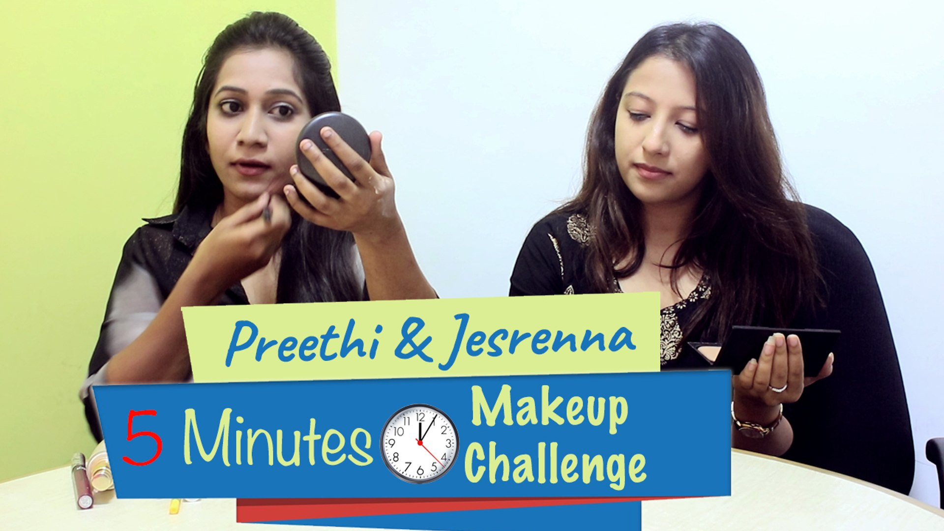 Easy 5-Minutes Makeup Challenge   Boldsky