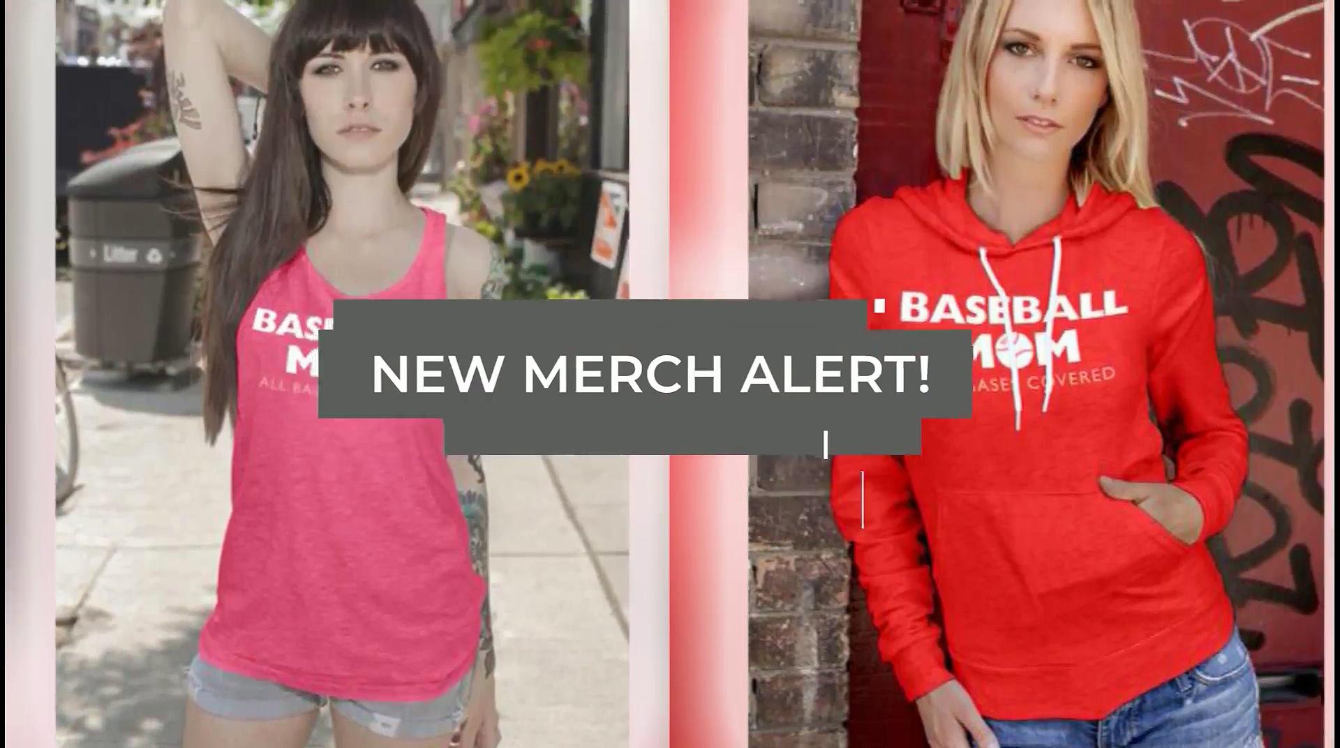 Baseball Mom T Shirts – Behind Every Baseball Player Is A Baseball Mom Great T-Shirts