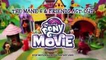 My Little Pony The mo - 'The Mane 6 & Friends Act Out!' Official Stop Motion Short