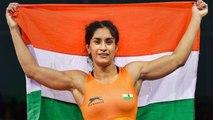 Asian Games 2018: Vinesh Phogat wins Gold Medal in womens 50 KG freestyle | वनइंडिया हिंदी