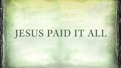 Newsboys - Jesus Paid It All
