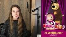 J'enregistre mon PREMIER ALBUM CD ! Je suis la voix de Masha   Masha and the bear  Masha et Michka