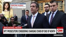 NYT_ Prosecutors may charge Michael Cohen with fraud