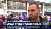 """Conducteur tué: pour le syndicat de police Alliance, l'intervention était """"carrée"""""""