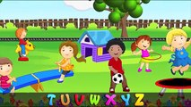 ABC Alphabet Song in HD with Lyrics Childrens Nursery Rhymes by eFlashApps