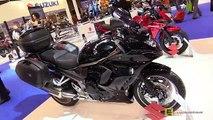 new Suzuki GSX1250FA Traveller Walkaround new EICMA Milan Motorcycle Exhibition