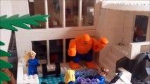 LEGO Custom GIANT Iron Man 3 Malibu Mansion W/Armory MOC--Tony Stark