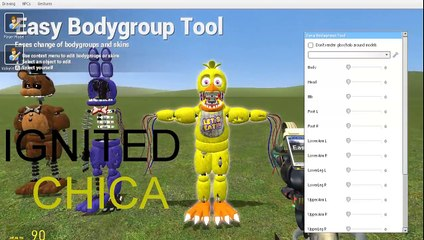 Haciendo los animatronicos TJOC  Garrys Mod