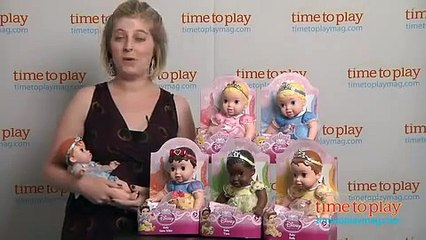 My First Disney Princess Baby Dolls from Tollytots