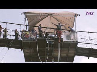 BUNGEE JUMP! Arnold & RD Help Jay Conquer His Fear!