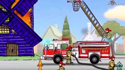 Fire Truck for Children | Cars & Trucks for Children : Fire Truck Cartoon | KIDS Videos
