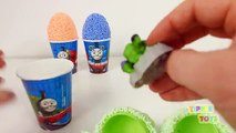 Playfoam Surprise Eggs Thomas & Friends Minions Star Wars SpongeBob Marvel Avengers Hulk P
